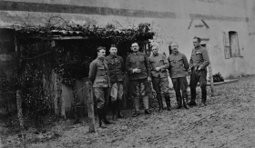 WW1 Soldiers Group Photos